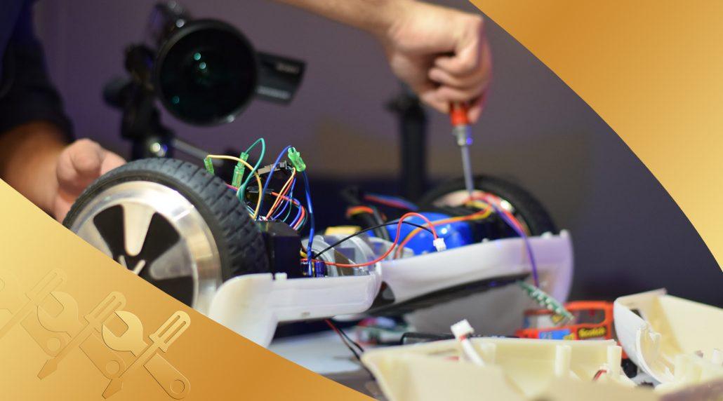 تعمیرات اسکوتر برقی
